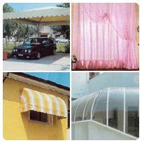 Tappezzeria : tappezziere per Tendaggi Interni , Tende per Esterni , Riparazione Divani e Poltrone